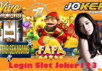 Login Slot Joker123 Dan Daftar Joker Gaming Via Bank BTPN JENIUS